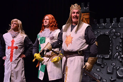 Lovingly Ripped Off From The Classic Film Comedy MONTY PYTHON AND THE HOLY  GRAIL, SPAMALOT Retells The Legend Of King Arthur And His Knights Of The  Round ...
